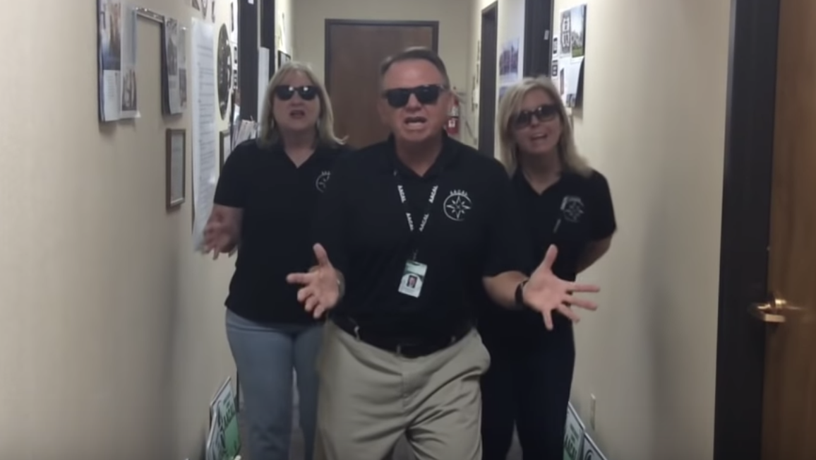 The lip sync challenge is on at Amarillo ISD