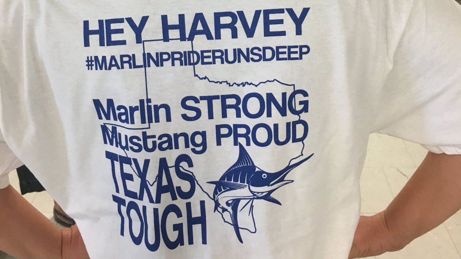 Panhandle districts reach across Texas to lift morale after Harvey