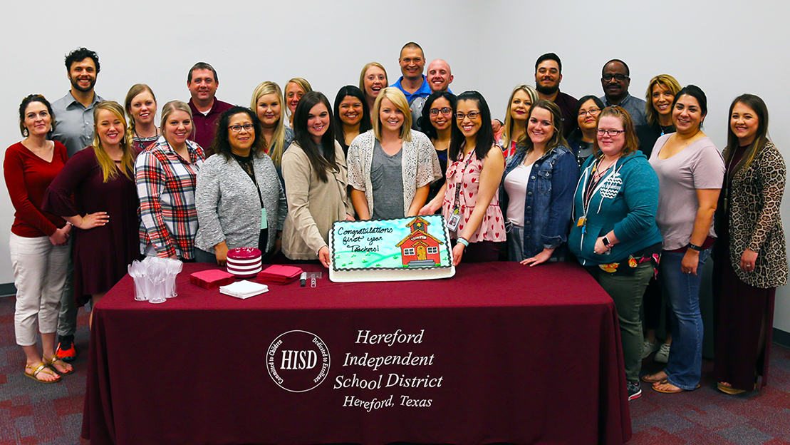 Hereford ISD invests resources, support in first-year teachers