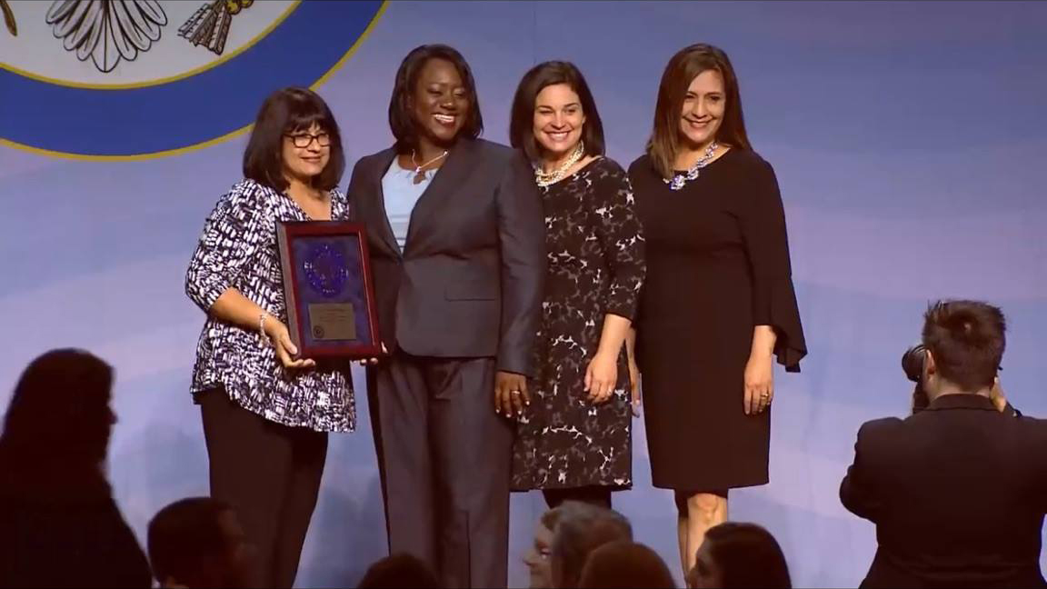 Amarillo's Whittier Elementary accepts Blue Ribbon award in Washington, D.C.