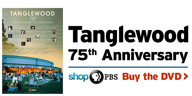 Shop PBS: Tanglewood 75th Anniversary (DVD)