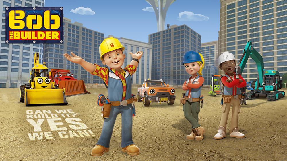 Watch the All-New Bob the Builder.