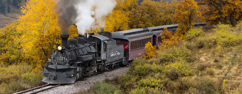 BEST OF TRAINS AROUND NORTH AMERICA