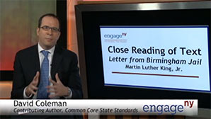 "Close Reading of Text: MLK ""Letter from Birmingham Jail"""