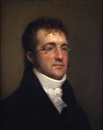 Portrait of Benjamin Henry Latrobe by Rembrandt Peale, c. 1815.
