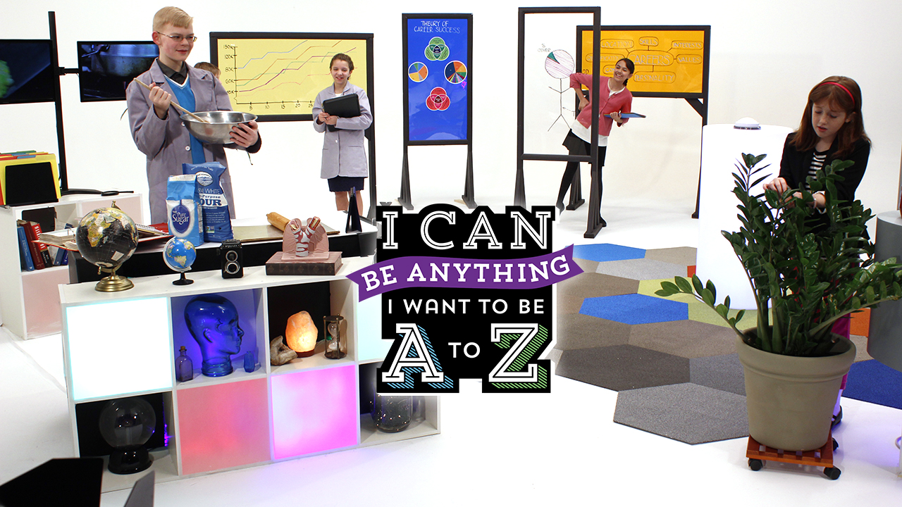 I Can Be Anything I Want to Be A to Z: Botanist