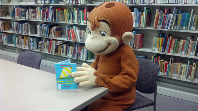 Curious George is coming to Midland and Lapeer County