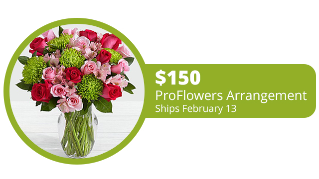 Valentine's Day Flower Offer from Q-90.1