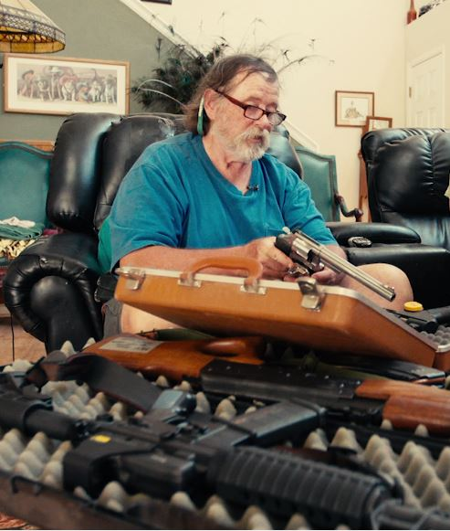 Dr. John Moore talks about his Firearm Collection.JPG