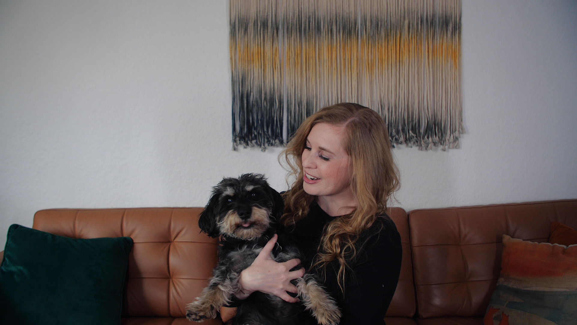 The author and her dog