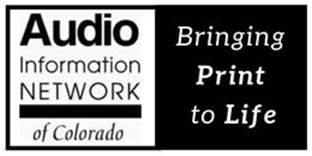 Audio Information Network of Colorado (AINC)