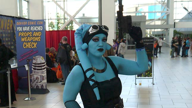 Denver Comic Con attendees often dress to impress.