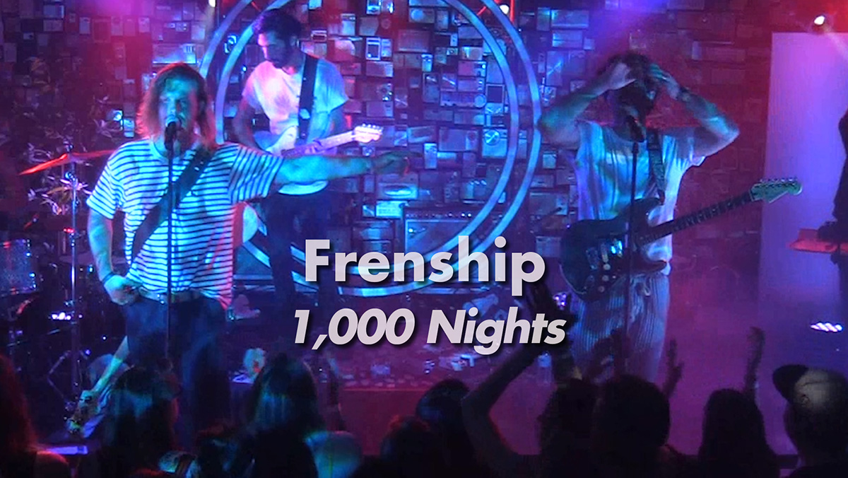 "Frenship: ""1000 Nights"" Live"