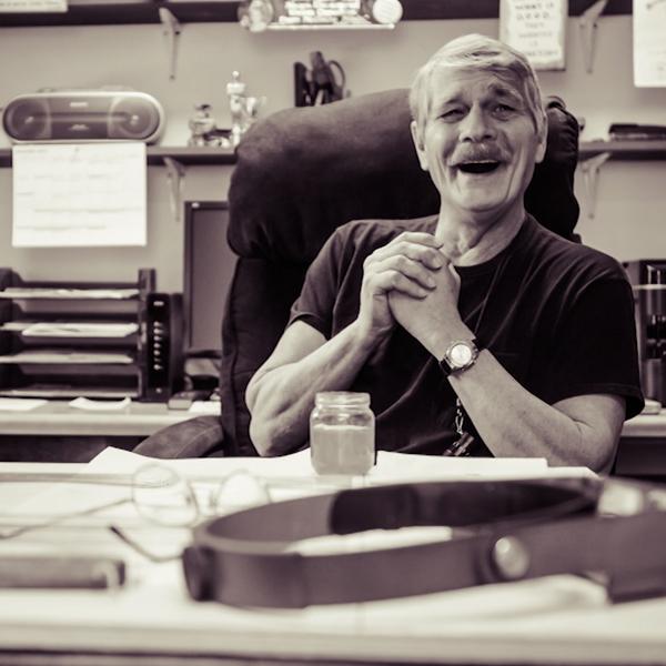 Artist Jim Stevens: How blindness has reinvented his work
