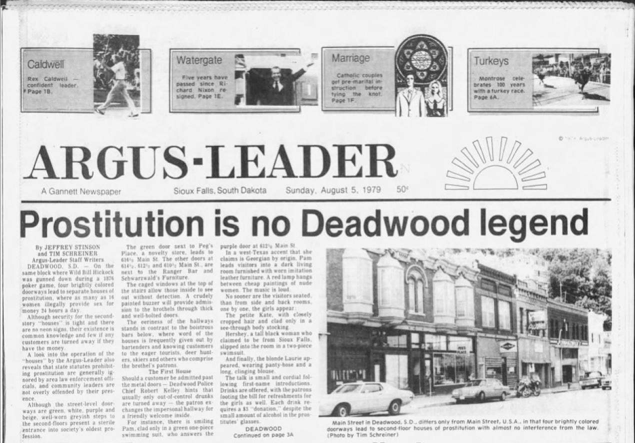 OPERATION HOTBED: Who Really Ended Deadwood Prostitution?
