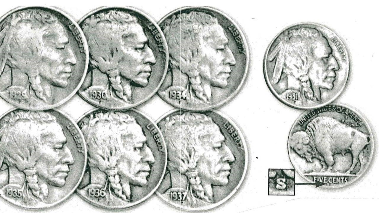 """IMAGES OF THE PAST: """"Indian Head"""" Coins"""