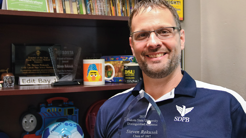 DSU Names SDPB's Science Steve Alum of the Year