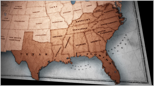 Slavery States Map.Timeline Of Slavery In America Slavery By Another Name Pbs Pbs