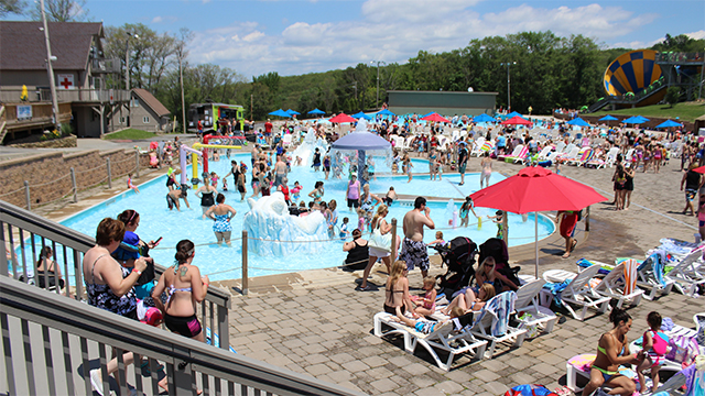 VIA Family Day at Montage Mountain Water Park
