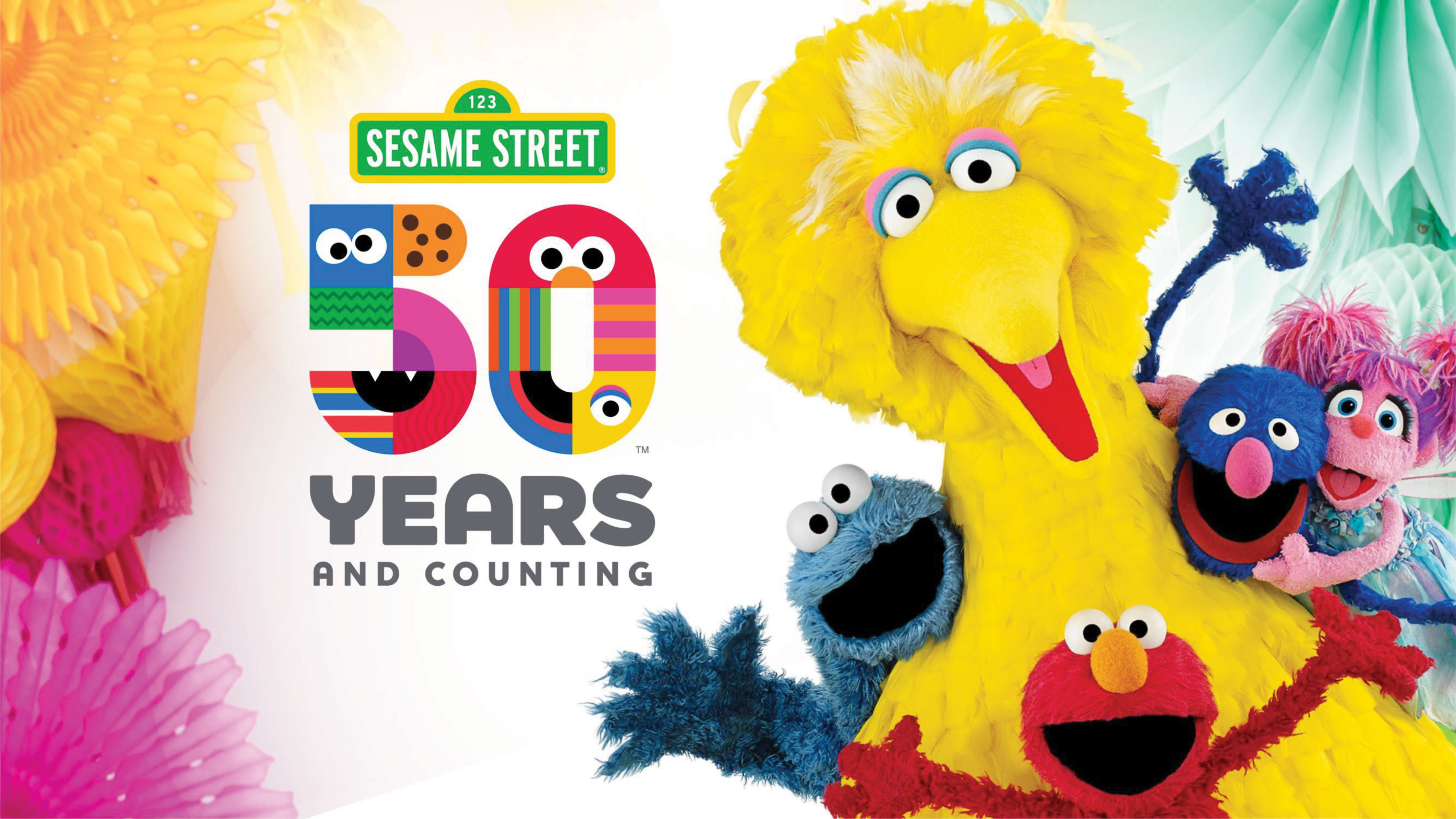 Sesame Street's 50 Years & Counting