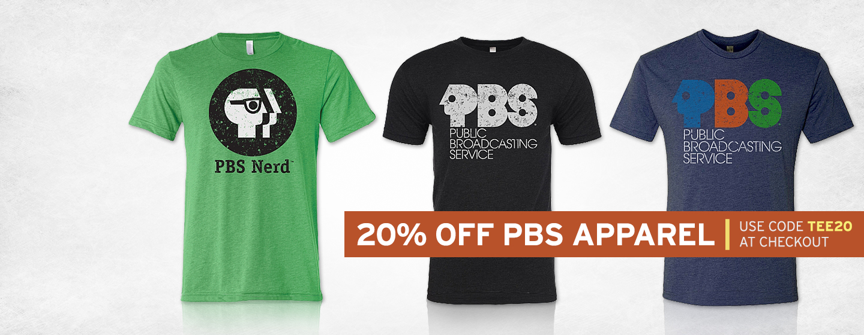 PBS Vintage T-Shirts