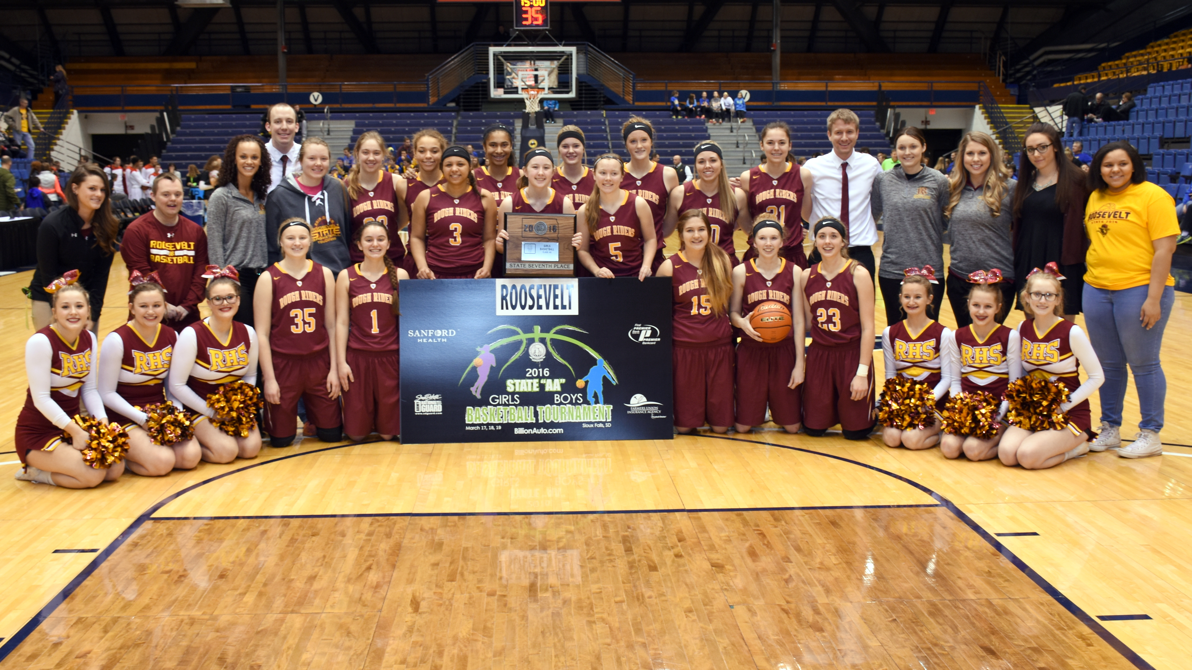 2016 Girls AA Basketball 7th Place - Sioux Falls Roosevelt.JPG