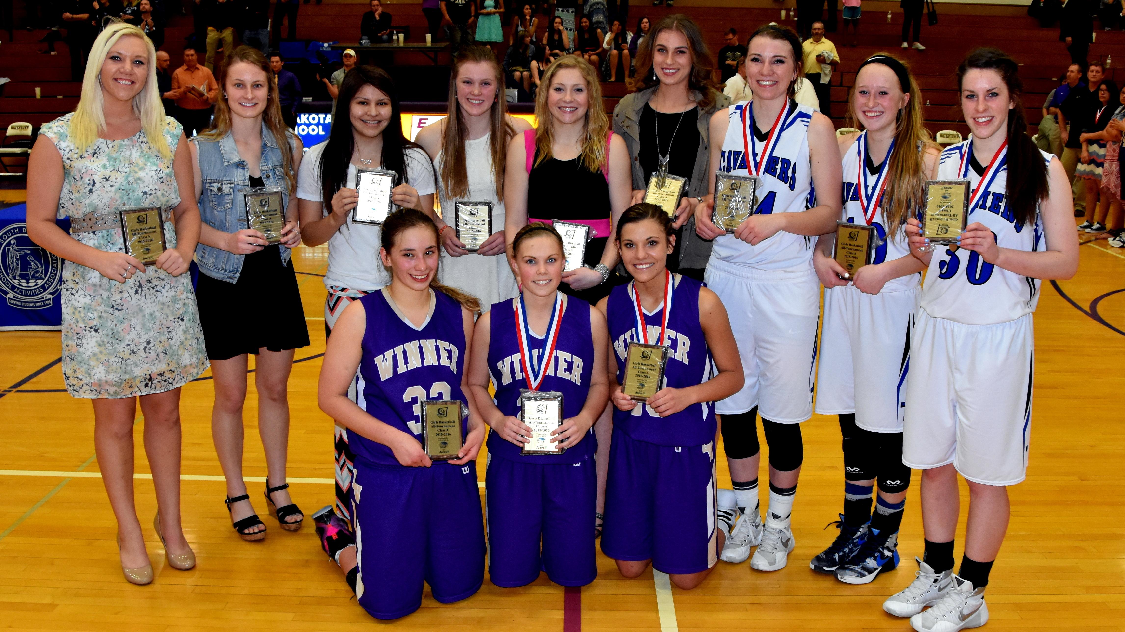 A Awards | Girls A Basketball - South Dakota High School Activities