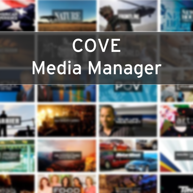 COVE Media Manager