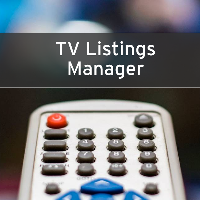 TV Listings Manager