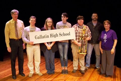 2nd Place:  Gallatin HS