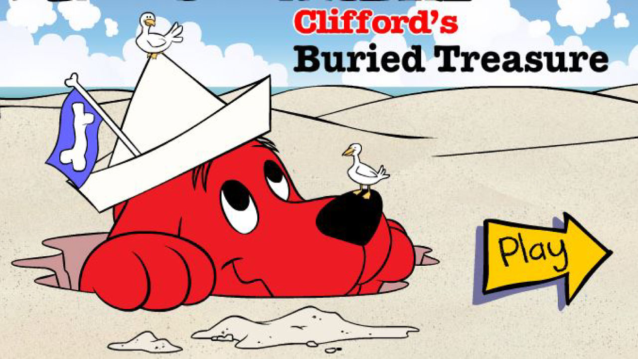 Clifford's Buried treasure