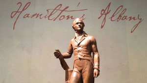 Photo taken at the Albany Institute of History and Art's Spotlight: Alexander Hamilton Exhibit