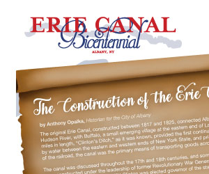 Albany.org Erie Canal Bicentennial Brochure