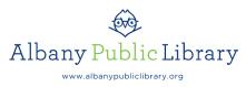 Albany Public Library Logo