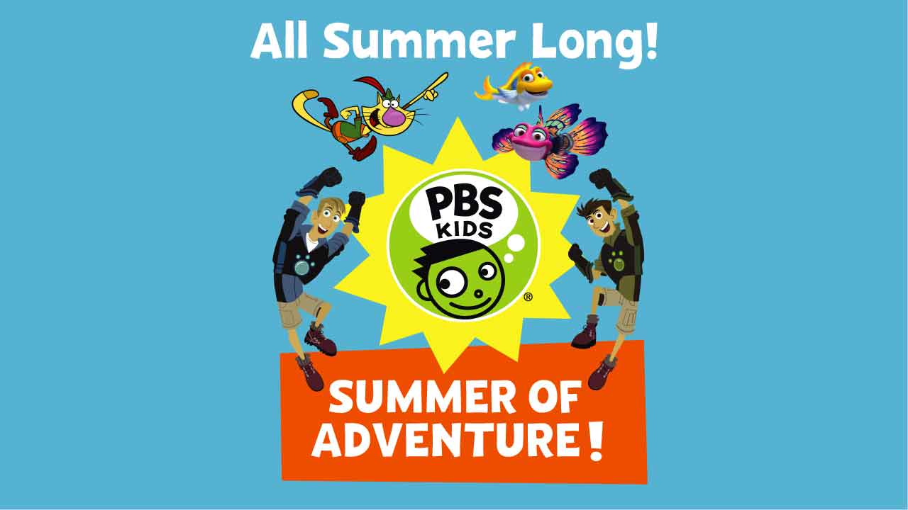 PBS Kids Summer of Adventure Activity Booklet