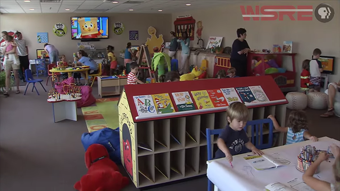 The Pensacola State College Learning Lab and WSRE Imagination Station