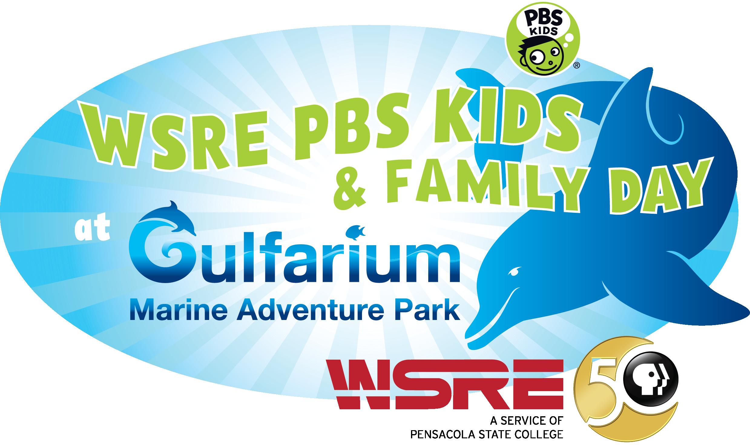 3rd Annual WSRE PBS FAMILY DAY at Gulfarium Marine Adventure Park