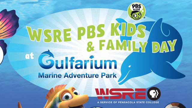 WSRE PBS FAMILY DAY at Gulfarium Marine Adventure Park