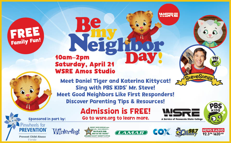 Be My Neighbor Day | EVENTS | WSRE