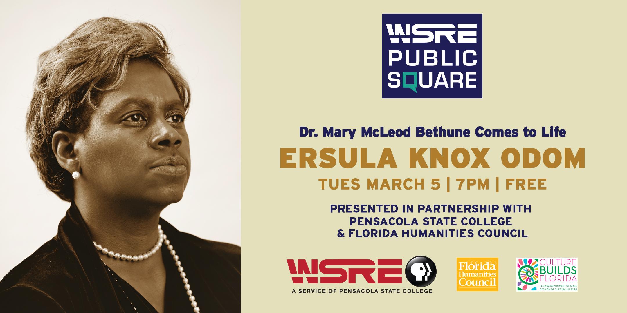 Ersula Knox Odom: Dr. Mary McLeod Bethune Comes to Life