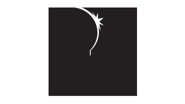 DPTV Vertical Logo Black & White