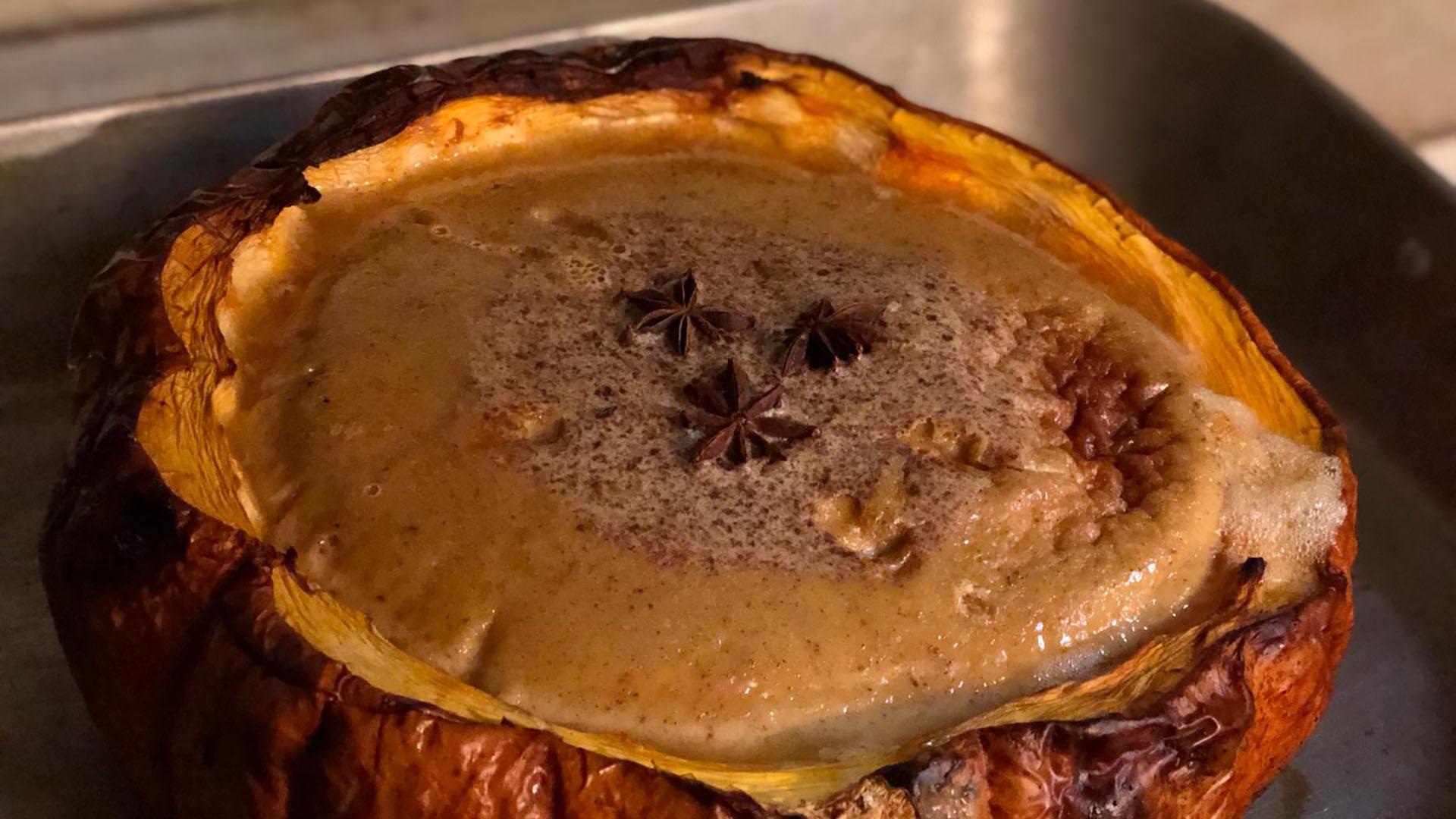 The First Pumpkin Pie (Sort Of)
