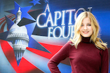 Jackie Evancho poses for a photo onstage during <em>A Capitol Fourth</em> concert at the U.S. Capitol, West Lawn, on July 4, 2016 in Washington, DC.