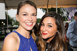 Sutton Foster and Alisan Porter pose for a photo backstage during <em>A Capitol Fourth</em> concert at the U.S. Capitol, West Lawn, on July 4, 2016 in Washington, DC.