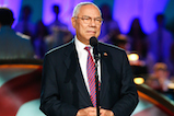 General Colin Powell, USA (Ret.), onstage at <em>A Capitol Fourth</em> concert at the U.S. Capitol, West Lawn, on July 4, 2016 in Washington, DC.