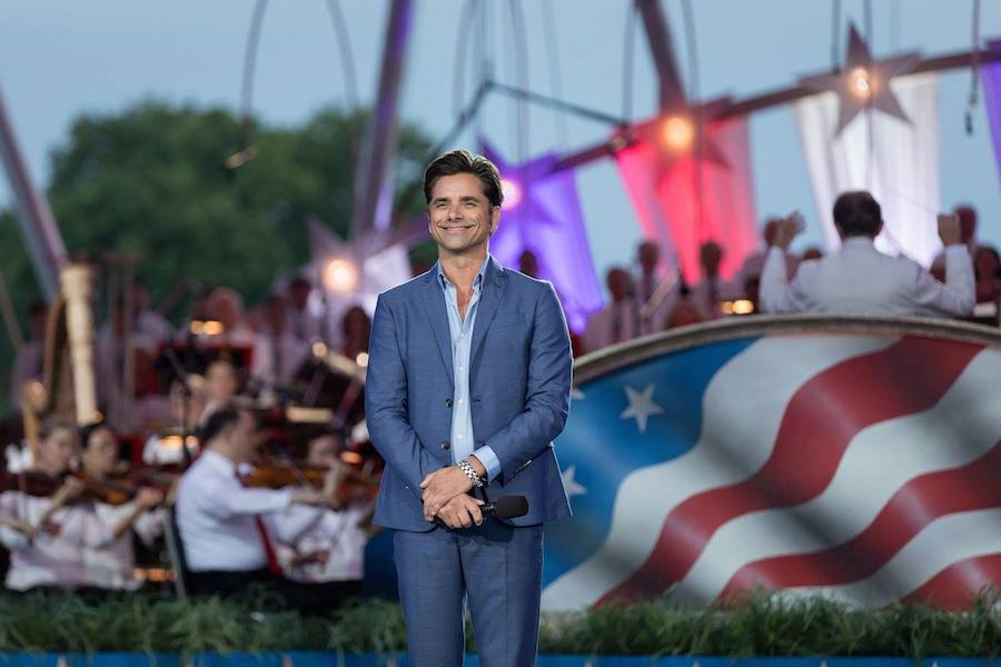 John Stamos hosts <em>A Capitol Fourth</em> at U.S. Capitol, West Lawn on July 4, 2017 in Washington, DC.
