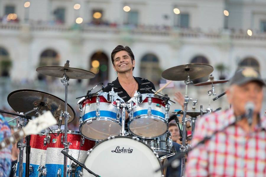 John Stamos plays along side The Beach Boys <em>A Capitol Fourth</em> at U.S. Capitol, West Lawn on July 4, 2017 in Washington, DC. (Photo by Paul Morigi/Getty Images for Capital Concerts)