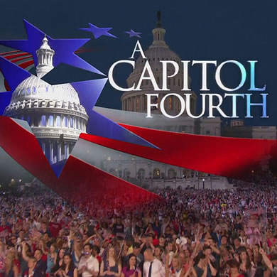 Graphic of US Capitol against an American Flag