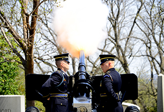 U.S. Army Presidential Salute Battery