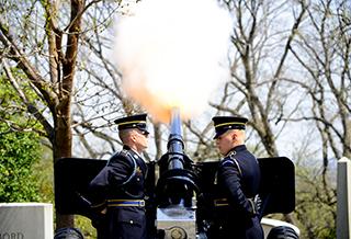 U.S. Army Presidential Salute Battery